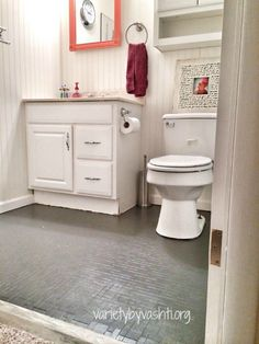 How i painted our bath tub tile floor diy under 30 tub tile how i painted our bath tub tile floor diy under 30 solutioingenieria Image collections