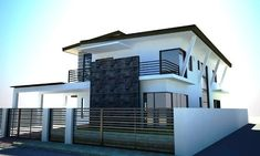 zen house designs in the philippines Zen House Design, Simple House Interior Design, Bungalow House Design, Minimalist House Design, Home Design Images, House Design Pictures, Modern House Philippines, Modern Zen House, Interior Design Philippines