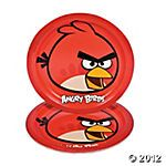 Angry Bird Party Table setting