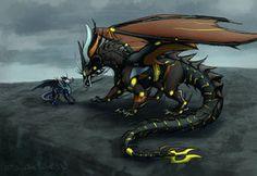 deviantART: More Like Dragonformers: Megatron meets Soundwave by JazzTheTiger