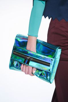 Milly Demi Holographic Clutch 2014