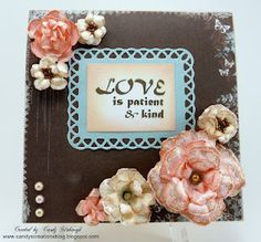Created by Candy Slabaugh  Heartfelt Creations Stamps & Dies