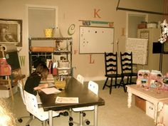 Room Makeover: from Garage to Schoolroom - life{in}grace