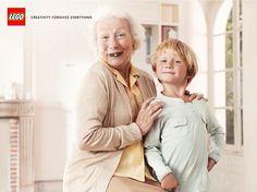 Lego: The Granny  Creativity forgives everything.  Advertising Agency: Grey, Paris, France