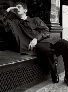Mathias Lauridsen by David Armstrong for Acne Paper