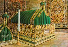 Blessed Grave of Sayyidna Jalalludin Rumi in Konya, Turkey