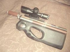 Handmade PCP rifle