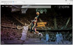 LeBron James – King James Wallpaper HD New Tab