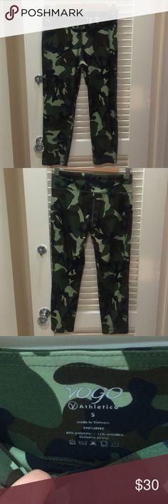 Capri work out pants Never worn. Vogo Athletica Pants Capris
