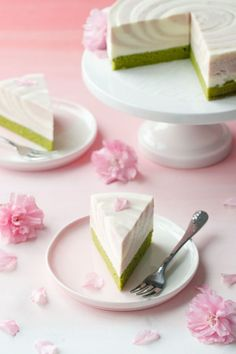 Celebrate cherry blossom season with this easy and impressive Sakura Matcha Mousse Cake recipe!