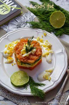 Kulinarne przygody Gatity: Łososiowa przekąska fit
