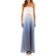 f511f0cf7ca64 Bisou Bisou® Sleeveless Ombré Maxi Dress found at  JCPenney Ombre Maxi Dress