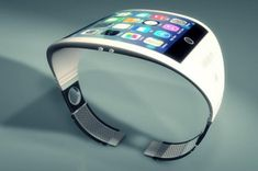Stunning Apple iWatch concept, a 'fashionable' device running iOS with biometrics and other features providing integration with other similar devices. Futuristic Technology, Technology Design, Cool Technology, Wearable Technology, Technology Gadgets, Energy Technology, Business Technology, Android Technology, Android Wear Smartwatch
