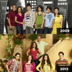 wizards of waverly place cast then and now