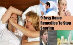 9 Easy Home Remedies To Stop Snoring