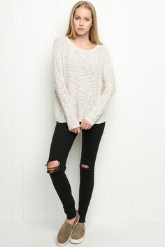 Brandy ♥ Melville   Janessa Sweater - Clothing