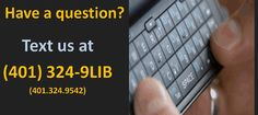 Text your question, get an answer. Simple and convenient.