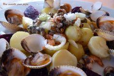 Coques bigorneaux crevettes grises