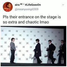 Bts Memes Hilarious, Bts Funny Videos, Suga Rap, Bts Bangtan Boy, Seokjin, Namjoon, J Hope Gif, Bts Facts, Kpop Memes