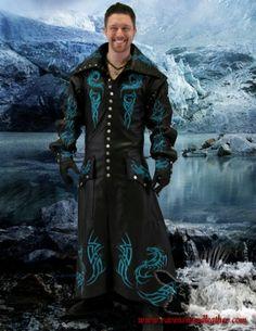 Full Dragon Rider Long Coat #ravenswoodleather
