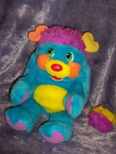 "RARE VINTAGE 1985 16"" PC PRETTY COOL POPPLE MATTEL AMERICAN GREETINGS CORP.  $9.99"