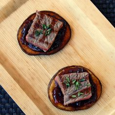 Kitchen Play Canadian Beef amuse bouche x2