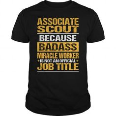 Awesome Tee For Associate Scout