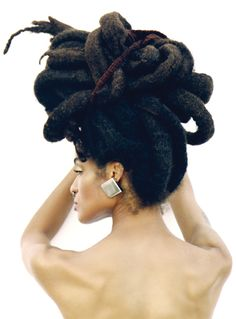 Easy and Gentle Updos for Locs