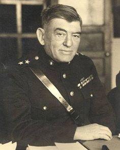 Maj. Gen. John A. Lejeune 13th commandant of the Marine Corps