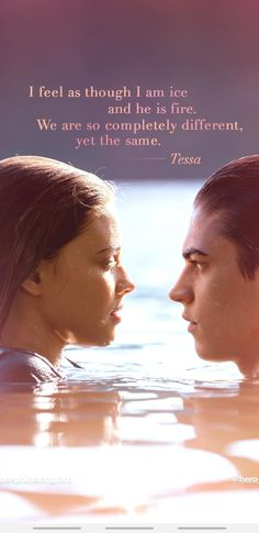 Wallpaper after passion tessa and hardin josephine langford and hero fiennes tif. - Wallpaper after passion tessa and hardin josephine langford and hero fiennes tiffin - After Libro 2, After Buch, Crush Movie, Citations Film, Romantic Movie Quotes, Favorite Book Quotes, Hardin Scott, After Movie, Hessa