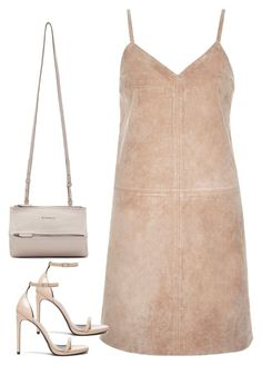 """Untitled#3840"" by fashionnfacts ❤ liked on Polyvore featuring River Island, Yves Saint Laurent and Givenchy"