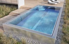 Image result for stainless steel pool