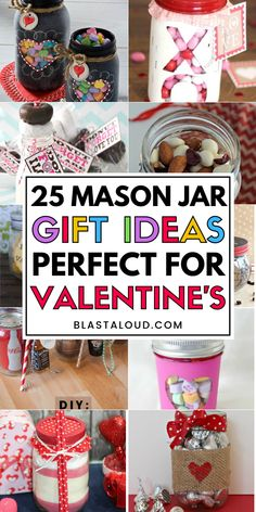 Spoil your loved ones this Valentine's day with these adorable personalized Valentines day mason jar gifts ideas. Perfect as gifts for your boyfriend, husband, friends, family or even kids. Tech Gifts For Men, Unique Gifts For Women, Gifts For Boss, Gifts For Your Boyfriend, Gift Boyfriend, Mason Jar Gifts, Mason Jars, Valentines Diy, Valentine Day Gifts