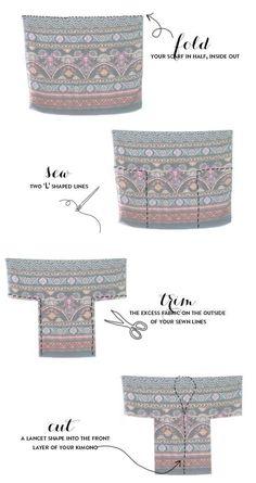 패턴없이 만드는 옷