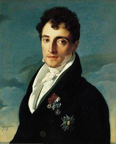 Baron Joseph-Pierre Vialetès de Mortarieu,1805-1806    Jean-Auguste-Dominique Ingres  French, 1780-1867  Oil on canvas  24-1/8 x 19-3/4 in. (61.2 x 50.2 cm)  The Norton Simon Foundation  F.1983.03.P