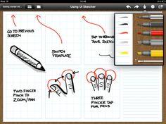 ui sketching app for ipad