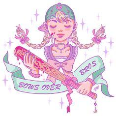 pastel goth girl illustration - Căutare Google