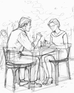 Vittorio Giardino - Jonas Fink - W. Human Figure Sketches, Human Sketch, Human Figure Drawing, Figure Sketching, Illustration Sketches, Drawing Sketches, Art Drawings, Drawing Reference Poses, Drawing Poses