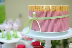 I love pepero and this would be AWESOME but with the chocolate pepero!