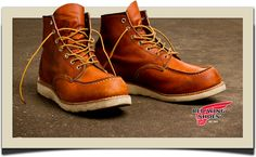 So nice! Red Wing Shoes.