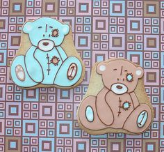 Teddy bears by Montreal Confection...I love her work!