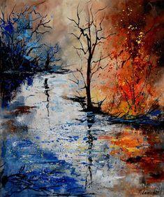 Artist: Pol Ledent; Oil, 2011
