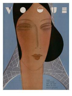 Vogue Cover, September 1929 Eduardo Garcia Benito