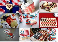 Sweet Treats for July 4th