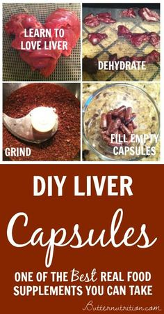 DIY Liver Capsules- one of the best #realfood supplements you can take   Butternutrition.com #nutrition