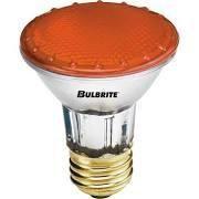 Amber Colored Flood Light Bulb