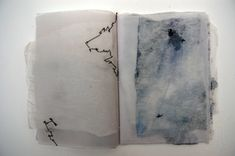 Artists Books and Sketchbooks- Mandy Pattullo