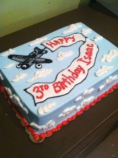 Vintage Airplane Cake | Tart Bakery Dallas