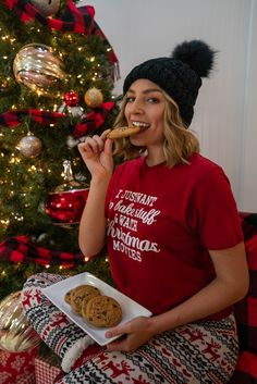 Cozy Christmas With 3 Sisters Cozy Christmas, Christmas Morning, Christmas Sweaters, Xmas Movies, Movie Tees, Holiday Pajamas, Sisters, Christmas Jumper Dress, Tacky Sweater