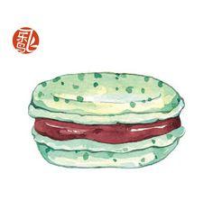 《水彩美食绘》——享受美式早餐,也爱深夜...